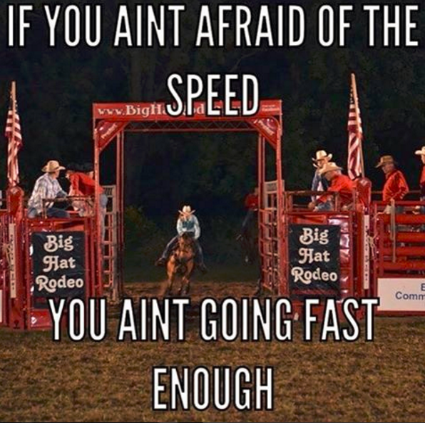Barrel Racing Quote